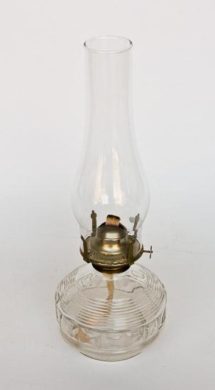 Glass Oil Lamp 10
